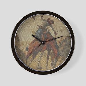 TGY Western Style Wall Clock (Cowboy Horse)