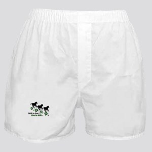 Live to Drill Boxer Shorts