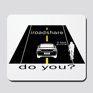 iRoadShare for Cyclists Mousepad