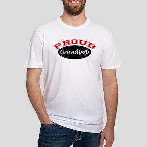 Proud Grandpop Fitted T-Shirt