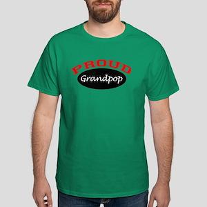 Proud Grandpop Dark T-Shirt