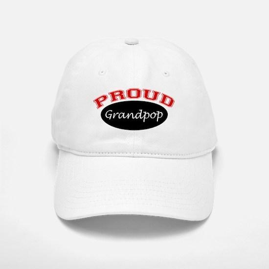 Proud Grandpop Baseball Baseball Cap