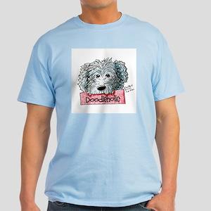 Doodleholic Gray Dood Light T-Shirt