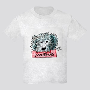 Doodleholic Gray Dood Kids Light T-Shirt