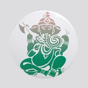 Ganesha Ornament (Round)