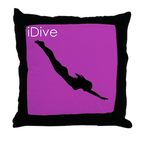iDive2 - Throw Pillow