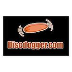 Discdogger.com Rectangle Sticker