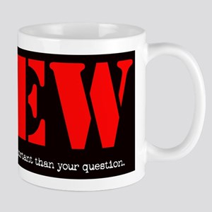 CREW: More Important Than You Mug