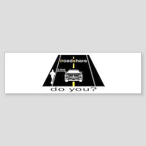 iRoadShare for Runners Bumper Sticker