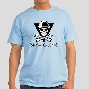 My Boys Can Swim Light T-Shirt