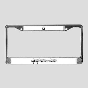 Oakland Minded License Plate Frame