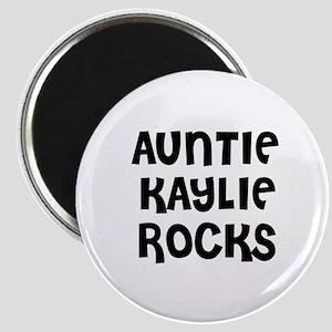 AUNTIE KAYLIE ROCKS Magnet