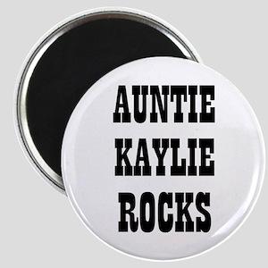 """AUNTIE KAYLIE ROCKS 2.25"""" Magnet (10 pack)"""