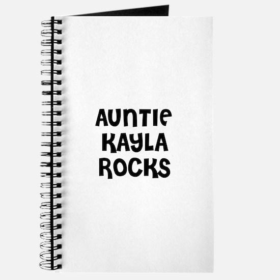 Cute Kayla Journal