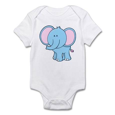 Elephant Standing Infant Bodysuit