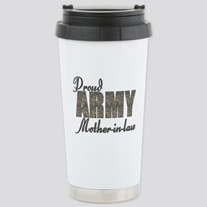 Proud Army Mother-in-law (ACU) Stainless Steel Tra