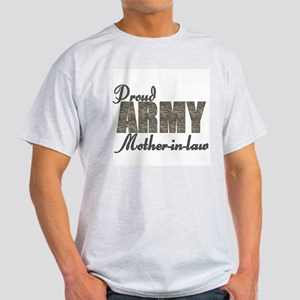 Proud Army Mother-in-law (ACU) Light T-Shirt