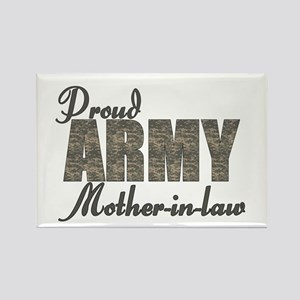 Proud Army Mother-in-law (ACU) Rectangle Magnet