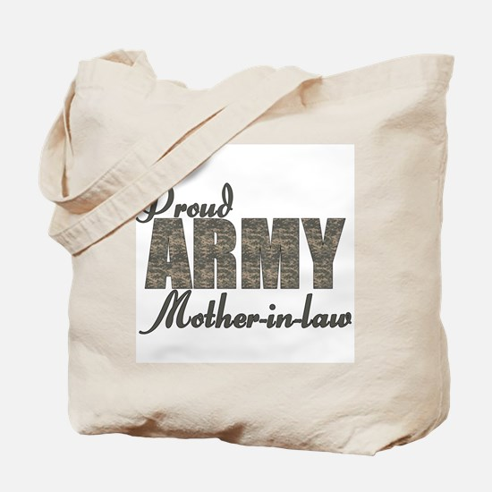 Proud Army Mother-in-law (ACU) Tote Bag