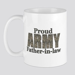 Proud Father-in-law (ACU) Mug