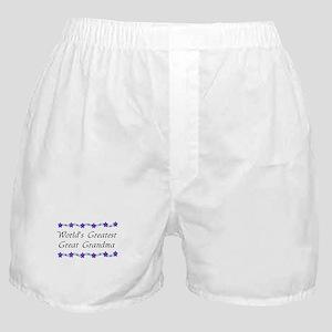 Greatest Great Grandma Boxer Shorts