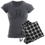 I'm Pulling Your Leg Women's Charcoal Pajamas