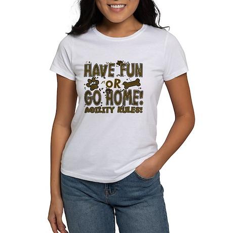Have Fun Dog Agility Women's T-Shirt