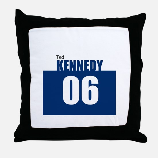 Kennedy 06 Throw Pillow