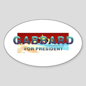 Tulsi 2020 Sticker (Oval)