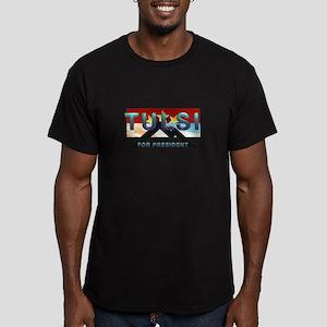Tulsi 2020 Men's Fitted T-Shirt (dark)