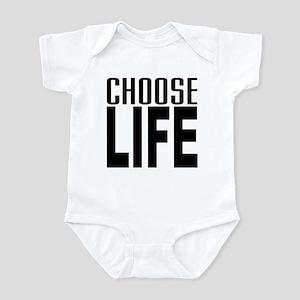 80's Choose Life Infant Bodysuit