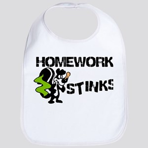 Homework Stinks Bib
