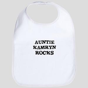 AUNTIE KAMRYN ROCKS Bib