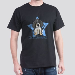 Star Kawaii Bluetick Coonhound Dark T-Shirt