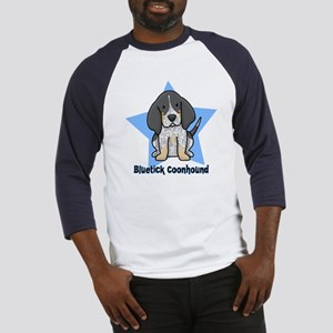 Star Kawaii Bluetick Coonhound Baseball Jersey