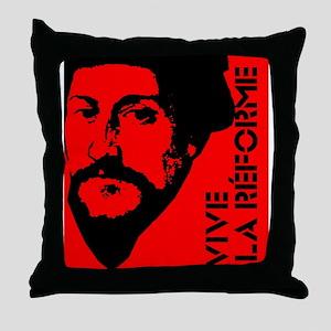 Vive La Réforme Throw Pillow