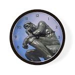 The Thinker - Wall Clock
