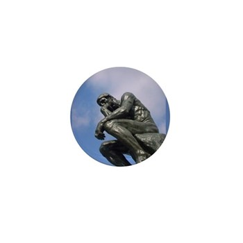 The Thinker - Button (100 pack)
