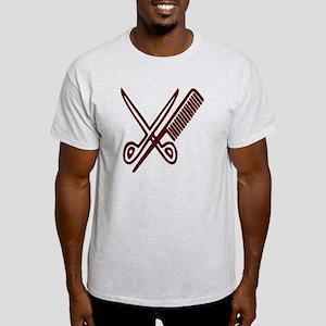 Comb & Scissors - Hairdresser Light T-Shirt