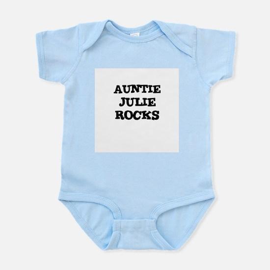 AUNTIE JULIE ROCKS Infant Creeper