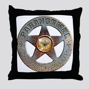 Paranormal Investigator Throw Pillow