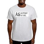 As slippery as an eel Ash Grey T-Shirt