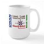 Compass points Large Mug