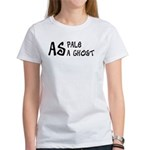 As pale as a ghost Women's T-Shirt