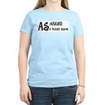 As naked as a picked bone Women's Pink T-Shirt