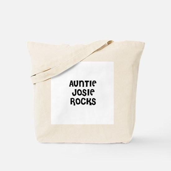 AUNTIE JOSIE ROCKS Tote Bag