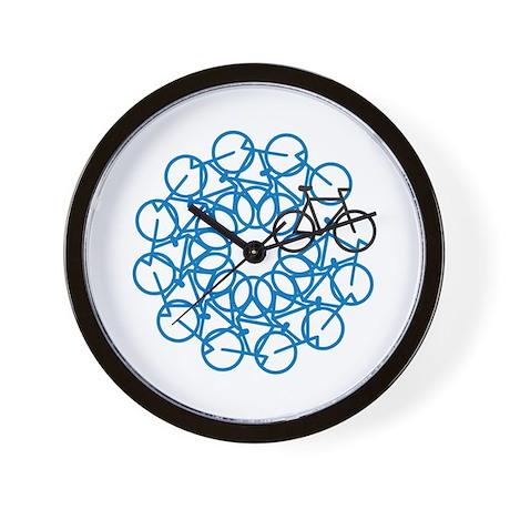 Bicycle Art Wall Clock