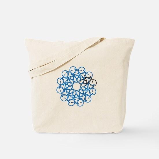 Bicycle Art Tote Bag