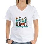 Grammarjammers Women's V-Neck T-Shirt