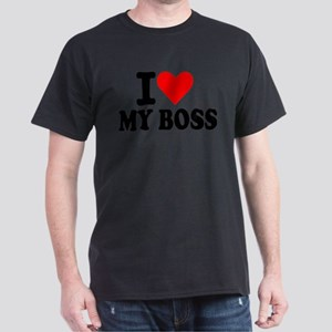 I love my boss Dark T-Shirt
